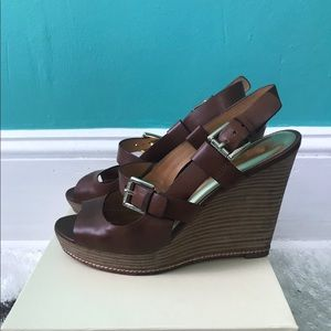 Coach Leather Mary Janes